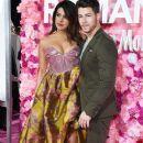 Priyanka Chopra and Nick Jonas : Premiere Of Warner Bros. Pictures' 'Isn't It Romantic - 382 x 600