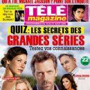 Eva Longoria, Evangeline Lilly, Hugh Laurie, Mark Harmon, Emily Procter - Tele Magazine Cover [France] (15 August 2009)