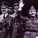 Francisco Franco and Adolf Hitler