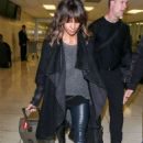 Halle Berry Arrives At Lax Airport In Los Angeles