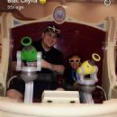 Blac Chyna, Rob Kardashian, and Amber Rose at Disneyland in Anaheim, California - October 23, 2016
