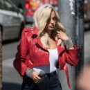 Bebe Rexha – Arriving at Jimmy Kimmel Live! in LA