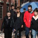 Halle Berry – Chats with Keanu Reeves on set of 'John Wick 3' in New York