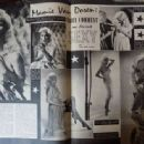 Mamie Van Doren - Cine Revue Magazine Pictorial [France] (21 September 1956) - 454 x 336