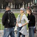 Jessica Alba - Visiting Paris, 29.02.2008.