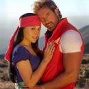Zuria Vega and Gabriel Soto