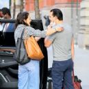 Katie Holmes – With her boyfriend Emilio Vitolo Jr. in New York