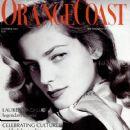Lauren Bacall - Orange Coast Magazine Cover [United States] (December 2004)