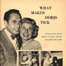 Doris Day and Martin Melcher - Movie Life Magazine Pictorial [United States] (May 1952) - 454 x 607