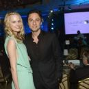 Zach Braff and Taylor Bagley - 454 x 333