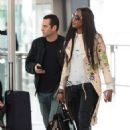 Naomi Campbell at Heathrow Airport in London - 454 x 636