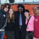 The Bebe Buell Band backstage 2007 - 454 x 317