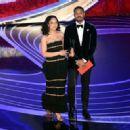 Tessa Thompson and Michael B. Jordan at the 91st Annual Academy Awards - Show - 454 x 328