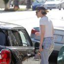 Kristen Stewart in Jeans – Out in Los Angeles