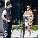 Madison Beer and Zack Bia – Leaving Urth Cafe in Los Angeles