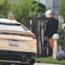 Hailey Bieber and Justin Bieber – Spotted while visiting a friend in West Hollywood