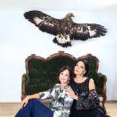 Olga Kabo and singer Nina Shatskaya - 450 x 604