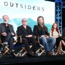 """Ryan Hurst speaks onstage during the WGN America Winter 2016 TCA Panel for """"Outsiders"""" at The Langham Huntington Hotel and Spa on January 8, 2016 in Pasadena, California"""