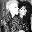 Vanity and Billy Idol