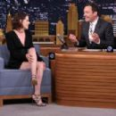 Kristen Stewart The Tonight Show Starring Jimmy Fallon In Nyc