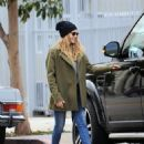 Teresa Palmer spotted in Los Angeles, California on January 10, 2017 - 454 x 563
