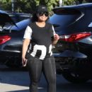 Blac Chyna and Kourtney Kardashian at The Pumpkin Patch in Los Angeles, California - October 14, 2016 - 454 x 630