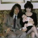 Eddie Van Halen & Valerie Bertinelli & baby Wolfgang