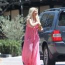 Tori Spelling – Clebrates Her 45th Birthday At Garland Hotel In Los Angeles - 454 x 533