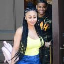 Blac Chyna and Demetrius Harris Shopping in Studio City, California - August 10, 2017