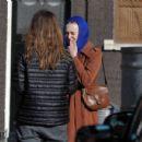 Dakota Fanning – Filming 'Sweetness in the Belly' in Dublin - 454 x 431