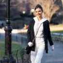 Victoria Justice – Out for a Stroll in Central Park 02/12/2019