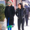 Gigi Hadid In Leggings Out In Nyc