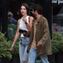 Adelaide Kane Leaving dinner with her boyfriend in Vancouver July 14, 2017