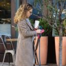 Russian-American actress Margarita Levieva is spotted walking her dog in New York City, New York on November 10, 2016 - 400 x 600