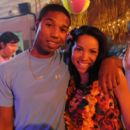 Michael B. Jordan and Jurnee Smollett