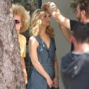 Claire Danes On A Shoot In Hollywood, 13 May 2010