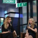 Amanda Seyfried and Lily James – Visit AOL Build Series in NYC - 454 x 681