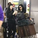 Dita Von Teese – Arrives at the airport in Miami - 454 x 518