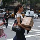 Famke Janssen – Out in New York City