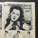 Rosalind Russell - Screen Guide Magazine Pictorial [United States] (April 1943) - 454 x 605