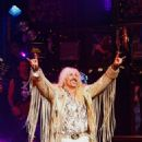 Dee Snider takes a bow during his Broadway debut in