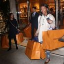 Brandy Norwood – Shopping in Beverly Hills