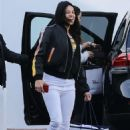 Michelle Rodriguez in White Jeans – Out in West Hollywood - 454 x 681