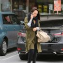 Cheryl Burke – Leaves Coffee Bean in LA - 454 x 570