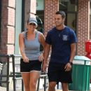 Miranda Lambert in Shorts – Out for a stroll in NYC - 454 x 662