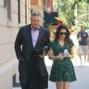 Hilaria and Alec Baldwin out in NYC