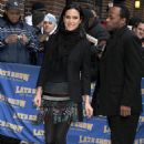 Jennifer Connelly - 2010-01-11 - Visits Late Show With David Letterman