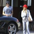 Ashley Tisdale and her new boyfriend get cozy after lunch at the Kings Road Cafe in Studio City, California on December 9, 2012