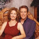 Nancy Travis and Ted Danson