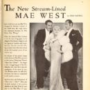 Mae West - Picture Play Magazine Pictorial [United States] (May 1935) - 454 x 637
